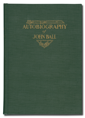 Autobiography of John Ball
